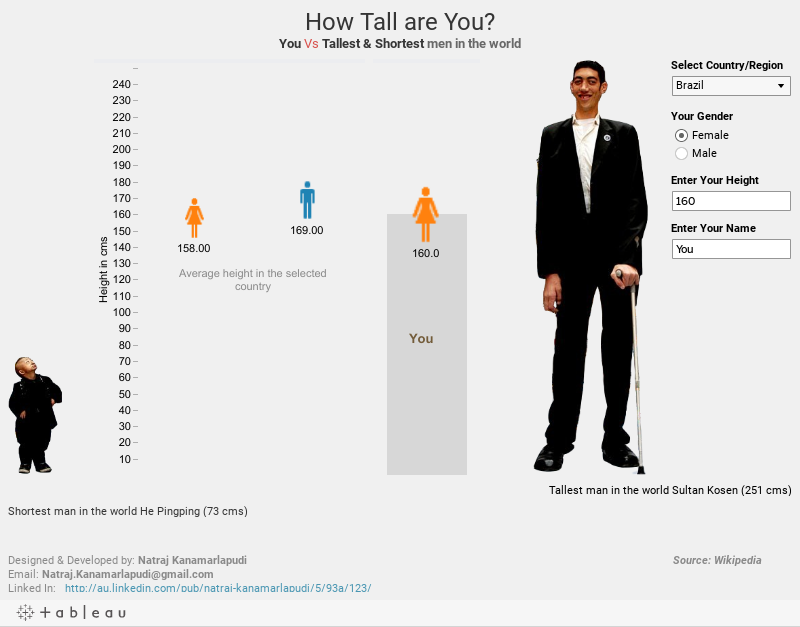 How tall are