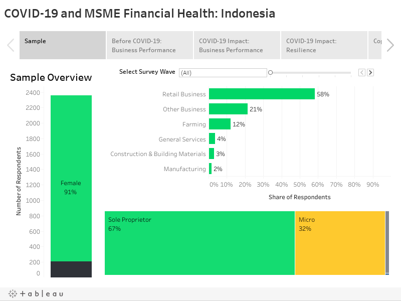 COVID-19 and MSME Financial Health: Indonesia