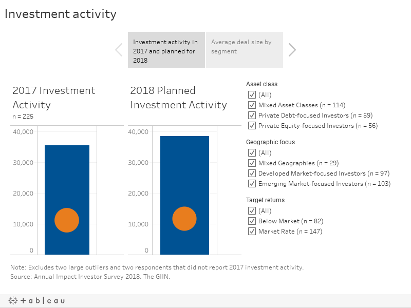 Investment Activity