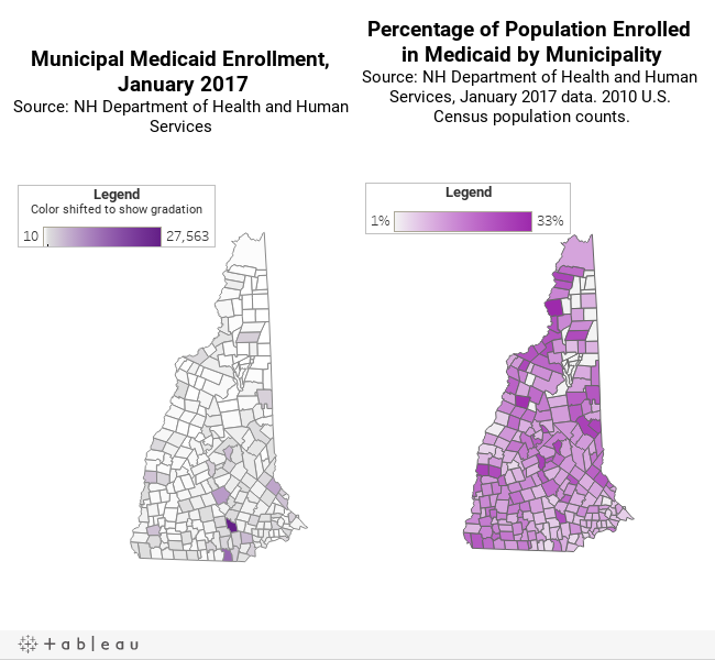 Medicaid by Municipality