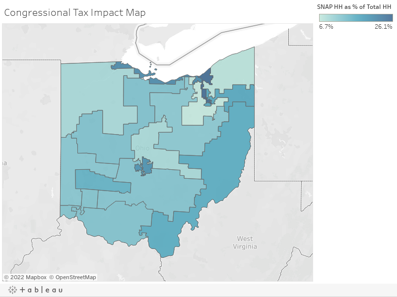 Congressional Tax Impact Map