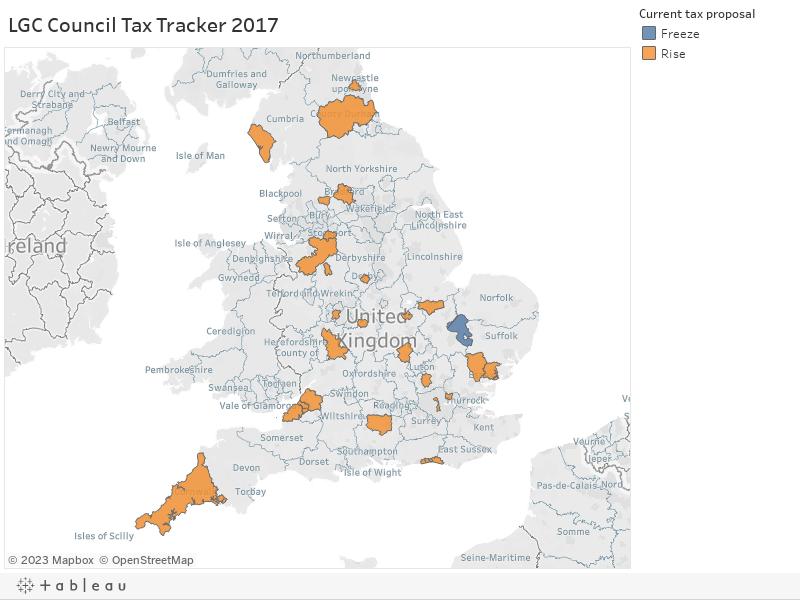 LGC Council Tax Tracker 2017