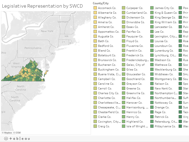 Legislative Representation by SWCD