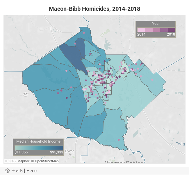 Analyzing Macon homicide rate from 2014-2018 | Macon Telegraph