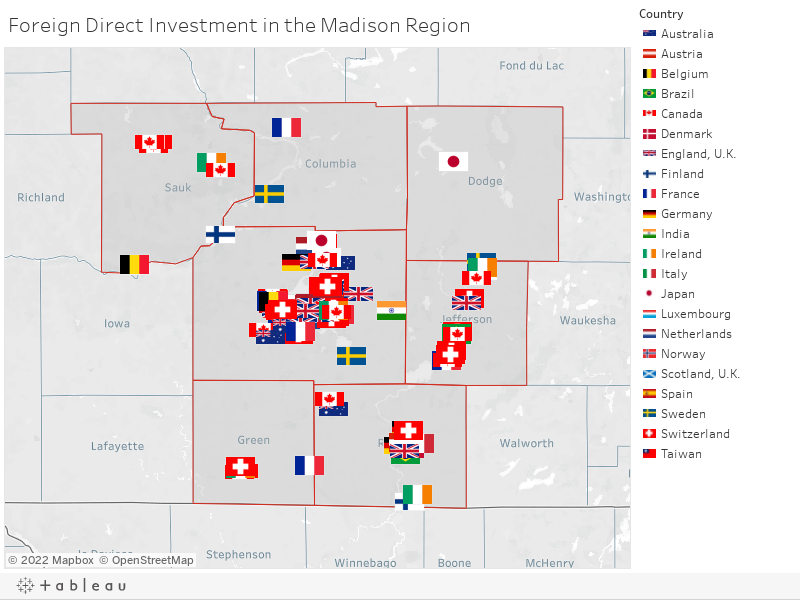 Foreign Direct Investment in the Madison Region