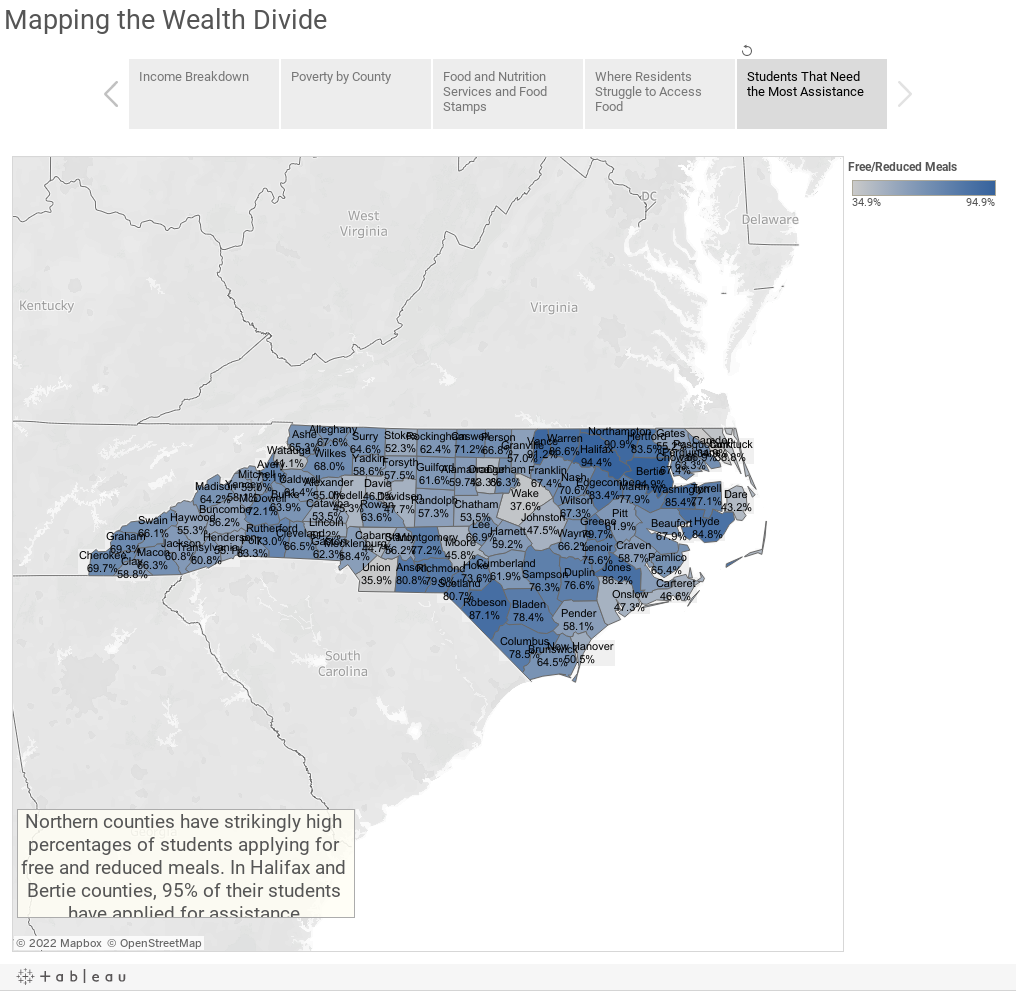 Mapping the Wealth Divide
