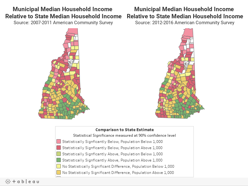 Dual Median Income Map