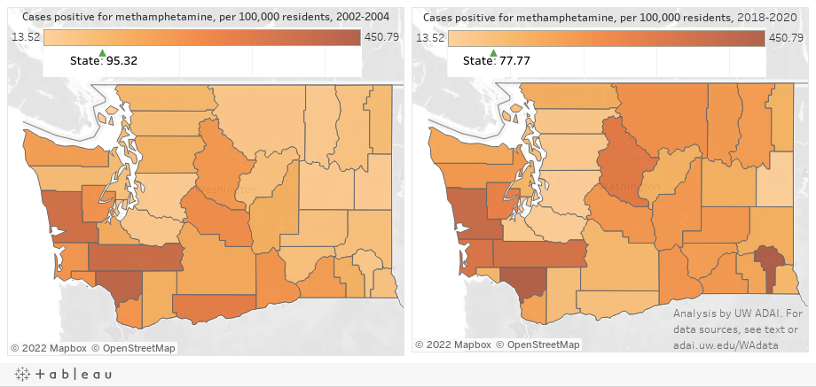 Washington state meth trends
