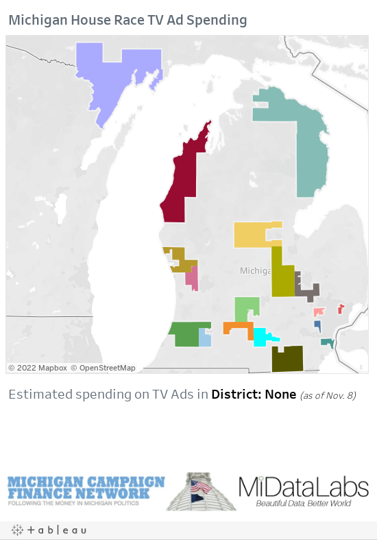Tracking $500,000 In Broadcast TV Ads Aired In Battle For