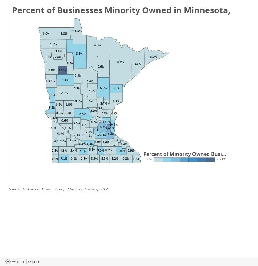 Minnesota Minority Businesses Dashboard