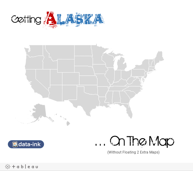 How to Map Alaska A Partially Successful Story  DataInkcom
