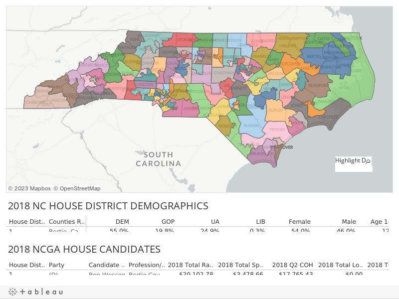 NCGA HOUSE MAP