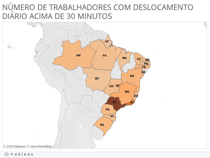 NUMERO DE TRABALHADORES