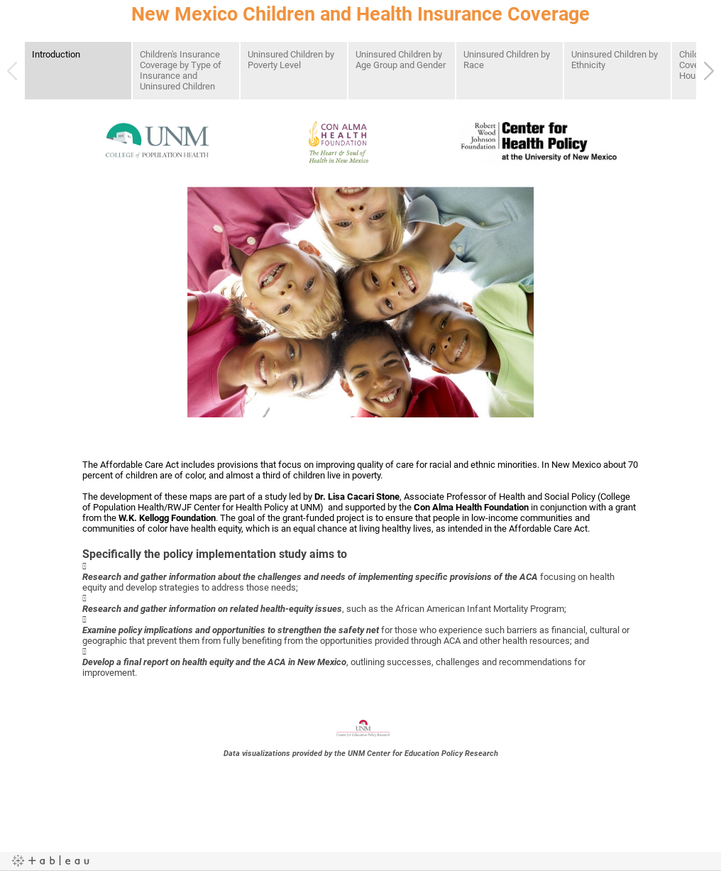 New Mexico Children and Health Insurance Coverage