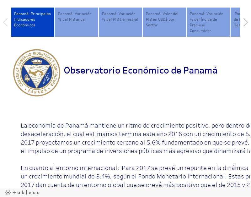 Indicadores macroeconómicos al 2T2016