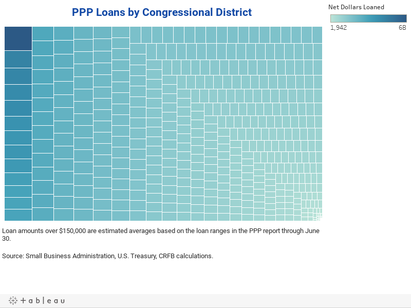 PPP Loans by Congressional District