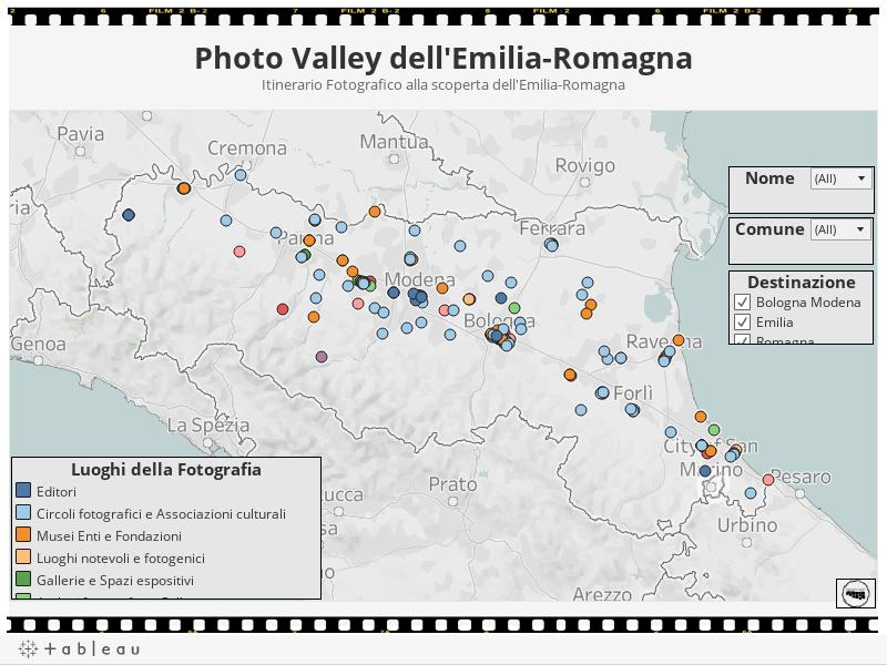 Photo Valley dell'Emilia-RomagnaItinerario Fotografico alla scoperta dell'Emilia-Romagna