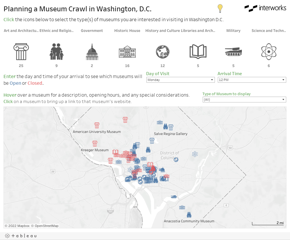 Planning a Museum Crawl in Washington, D.C.