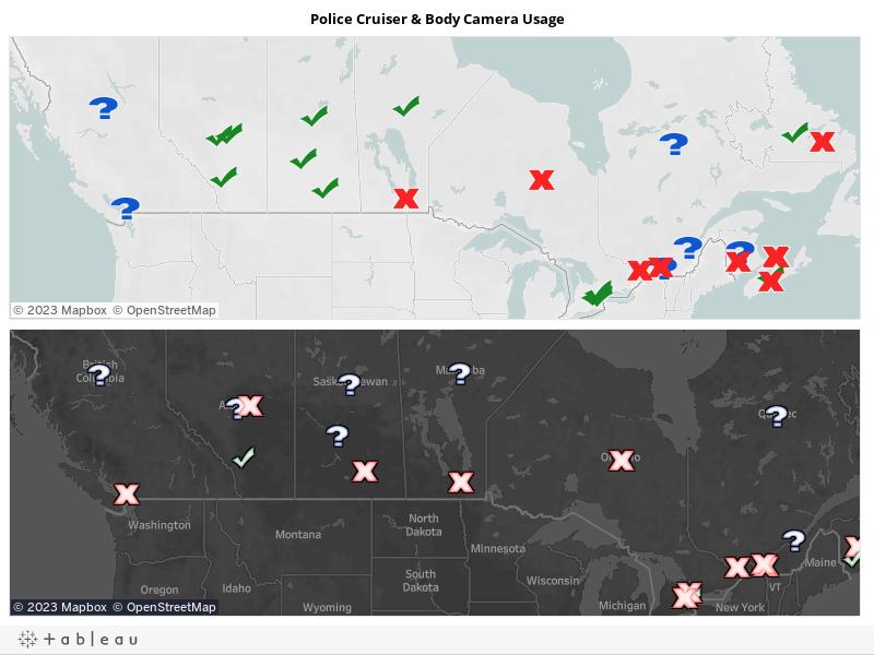 Police Cruiser & Body Camera Usage