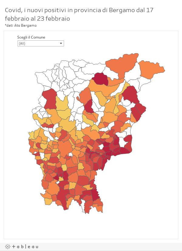 Cartina Lombardia Da Colorare.Cosi Bergamo E Cambiata In 21 Giorni Da Curva Stabile Ai Comuni In Zona Arancione Bergamonews