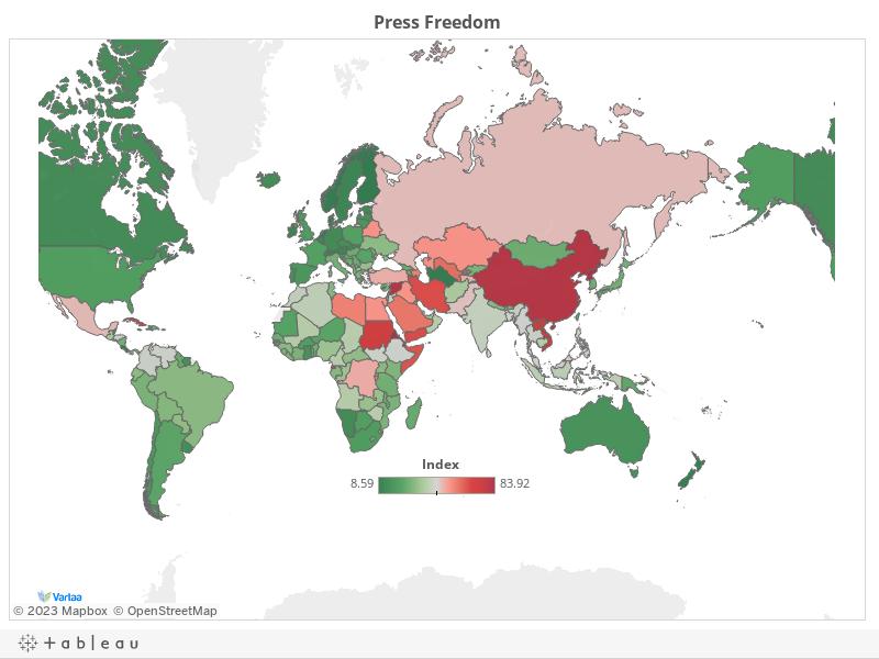 Press Freedom Around the World