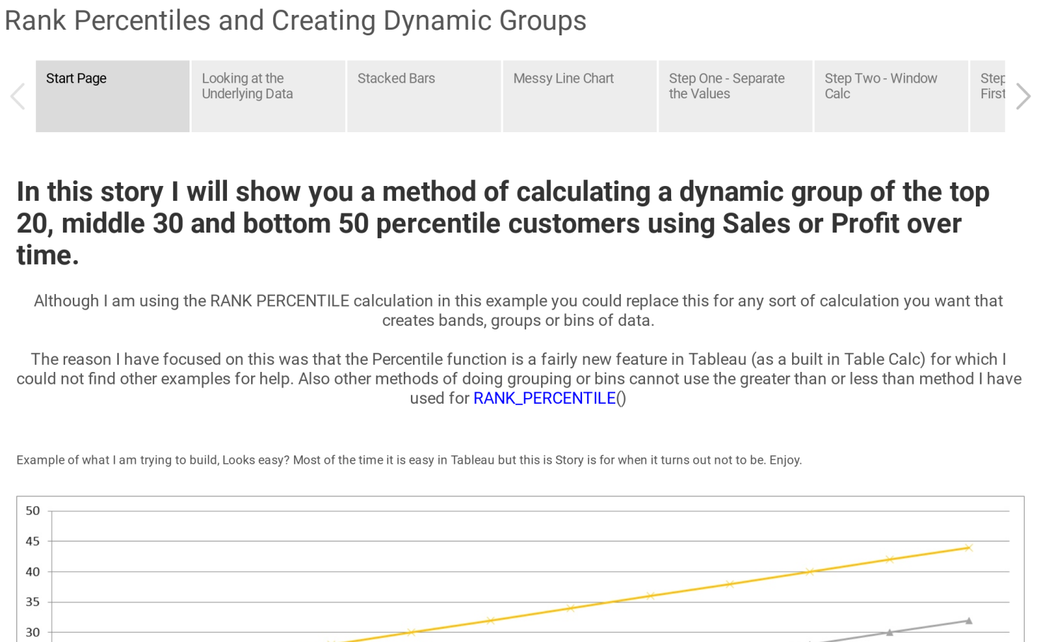 Rank Percentiles and Creating Dynamic Groups - Chris Mace | Tableau