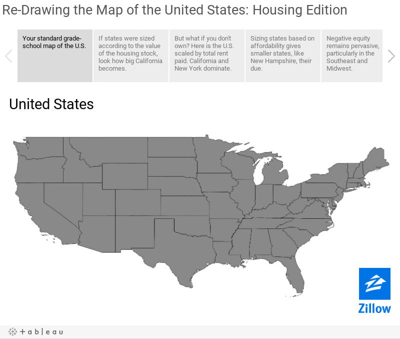Re-Drawing the Map of the United States: Housing Edition