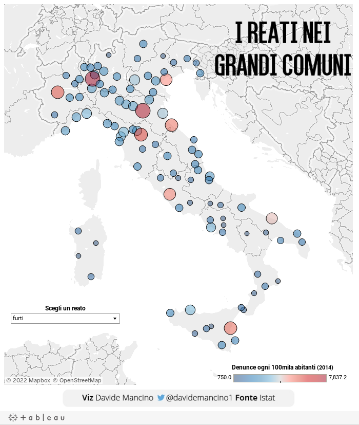 Which cities in Italy have the highest crime rates? - The Local