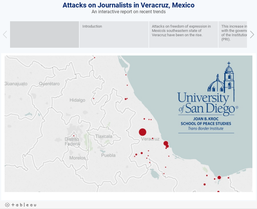 Attacks on Journalists in Veracruz, MexicoAn interactive report on recent trends