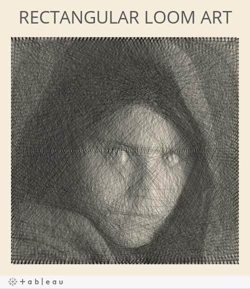 RECTANGULAR LOOM ART