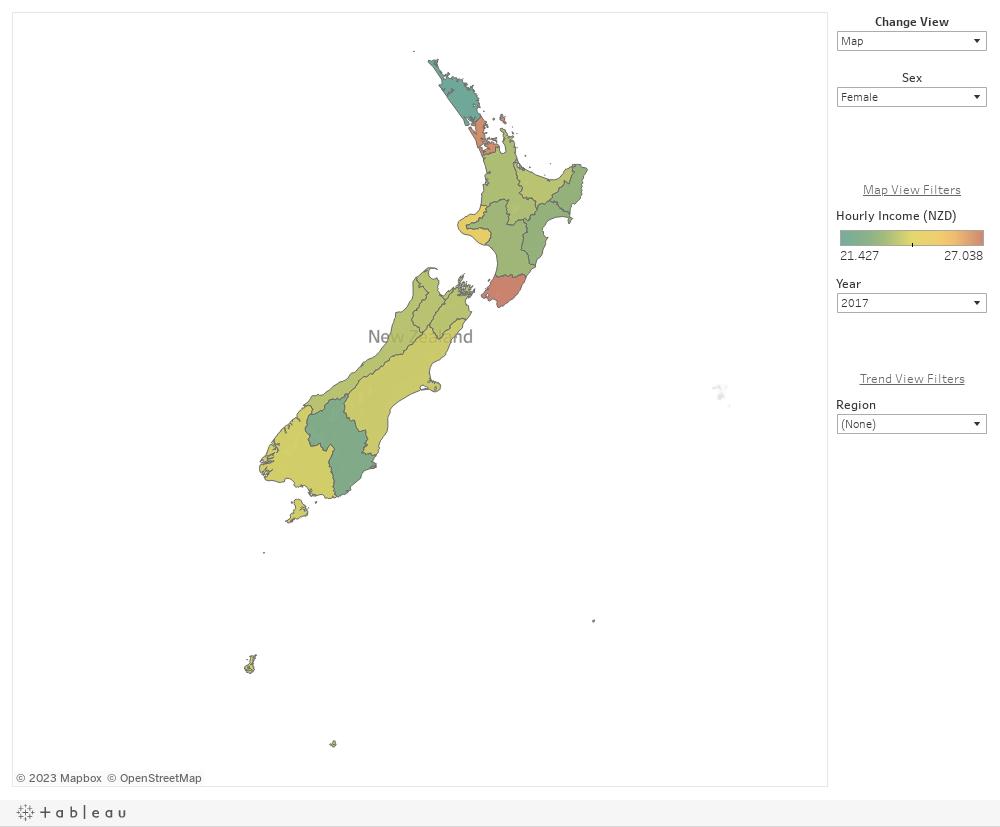 Regional Sex Income