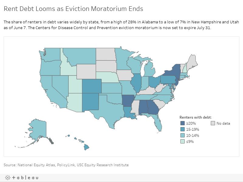 Rent Debt Looms as Eviction Moratorium Ends