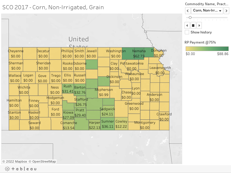 SCO 2017 - Corn, Non-Irrigated, Grain