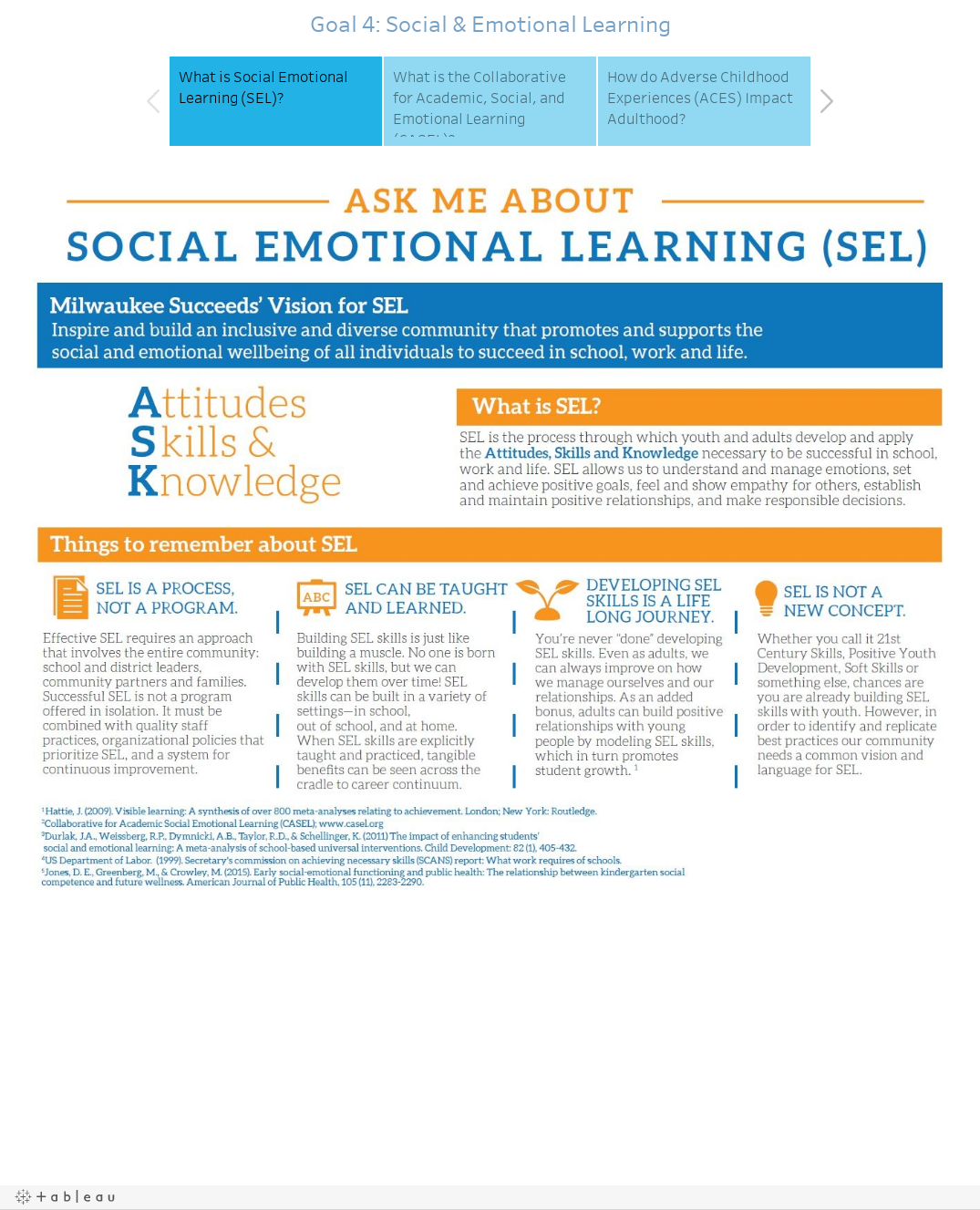 Goal 4: Social & Emotional Learning