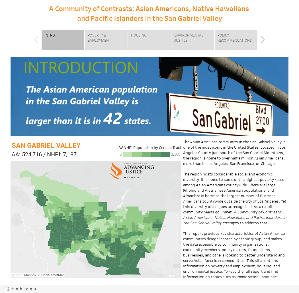 A Community of Contrasts: Asian Americans, Native Hawaiians and Pacific Islanders in the San Gabriel Valley