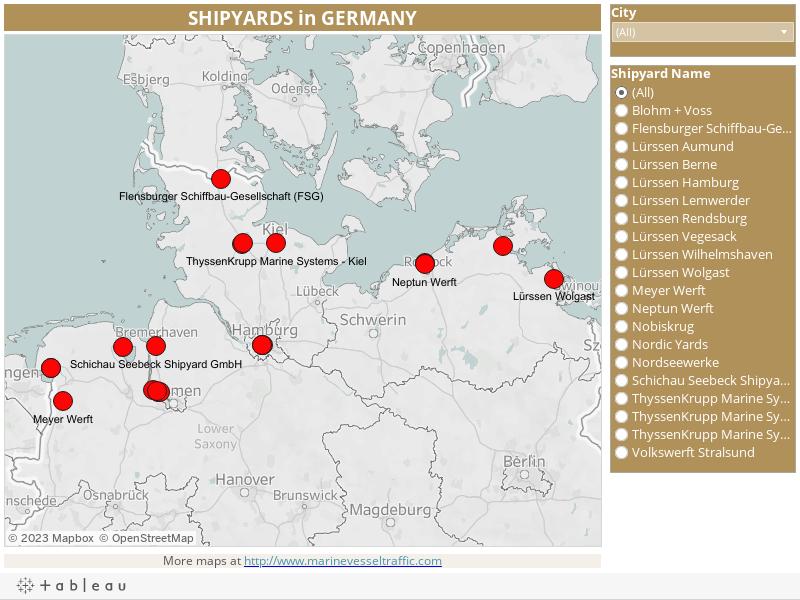 SHIPYARDS in GERMANY