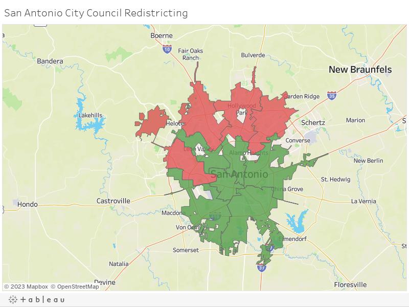 San Antonio City Council Redistricting