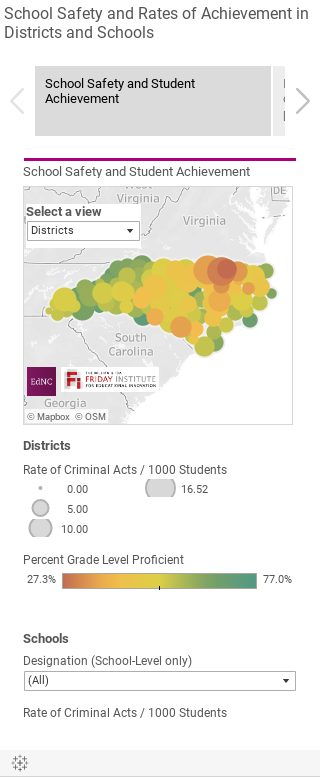 School Safety and Rates of Achievement in Districts and Schools