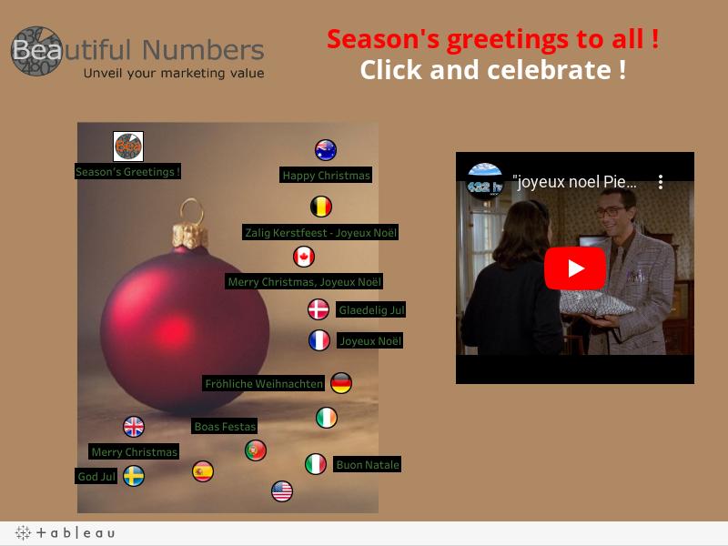Seasons greetings !