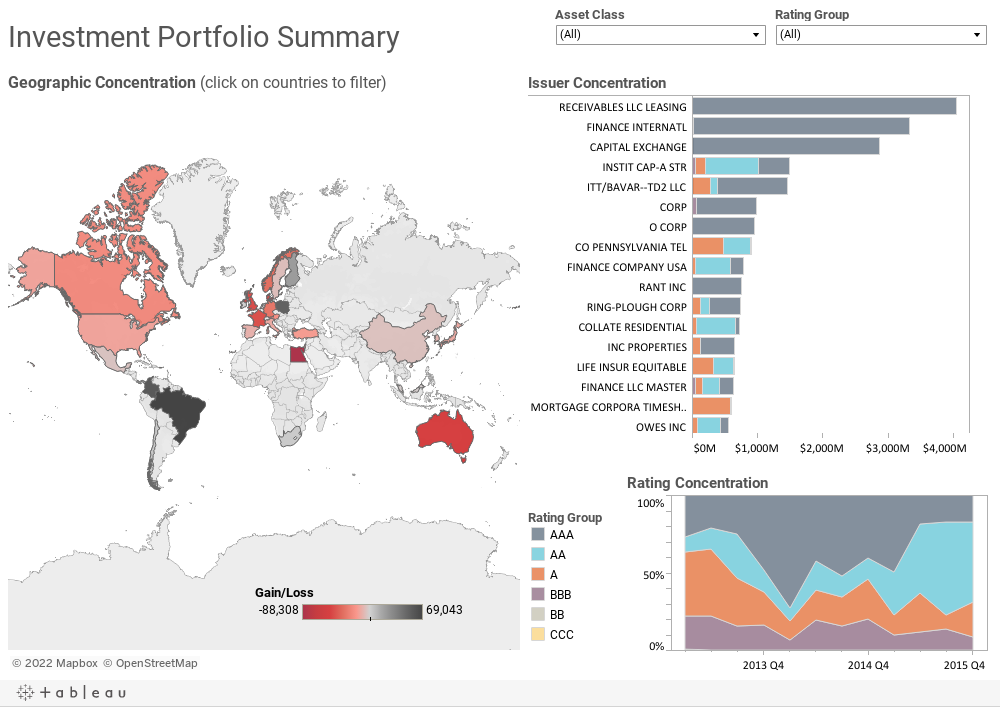 Investment Portfolio Summary
