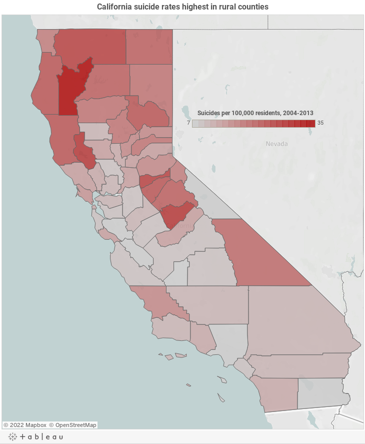 Californias Rural Counties Struggle With Rising Number Of - Counties of california
