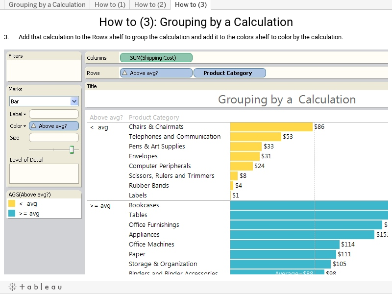 Table Calculations for Advanced Analysis in Tableau