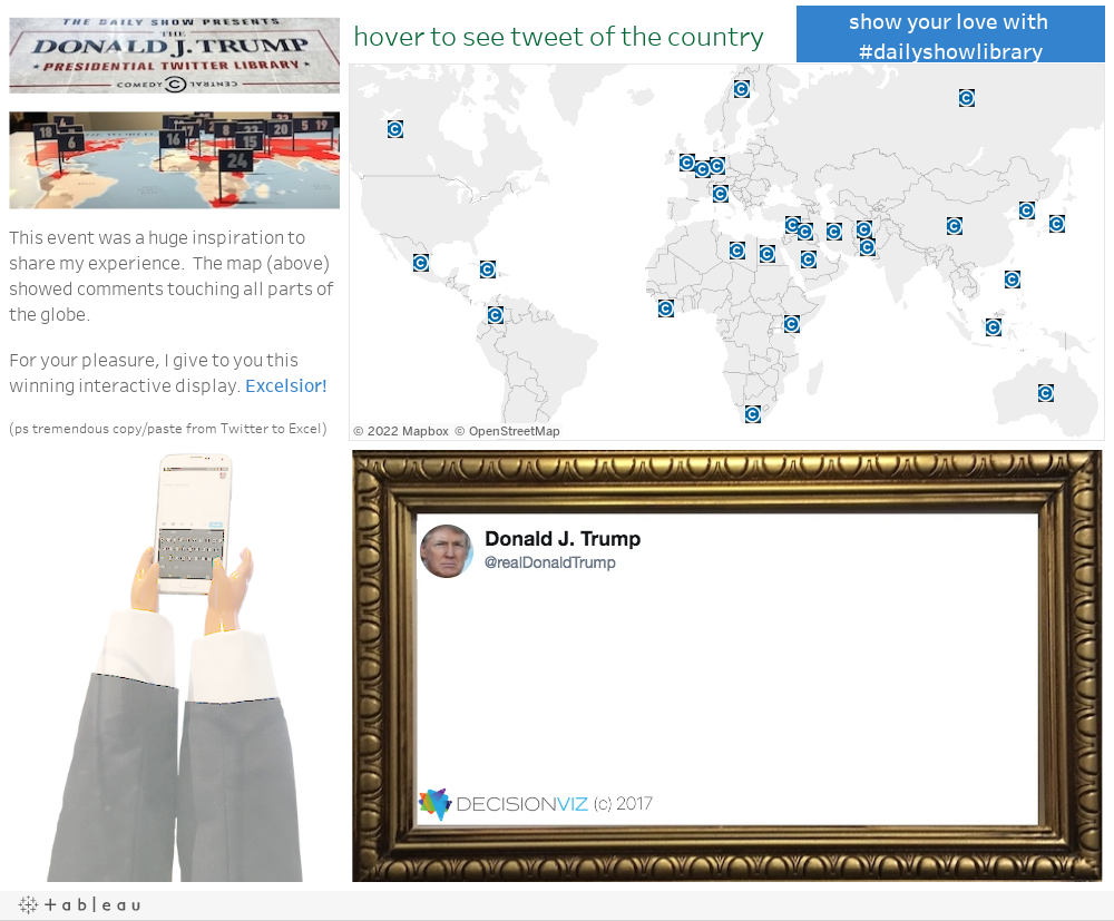 THE DAILY SHOW PRESENTS THE DONALD J. TRUMP PRESIDENTIAL TWITTER LIBRARY