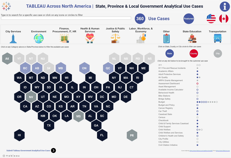 Tableau Across America