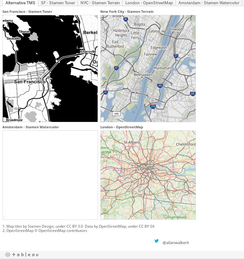 Custom Mapping Mayhem | Tableau Public