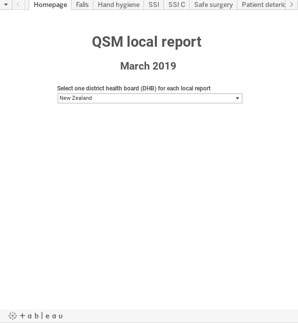 DHB local report