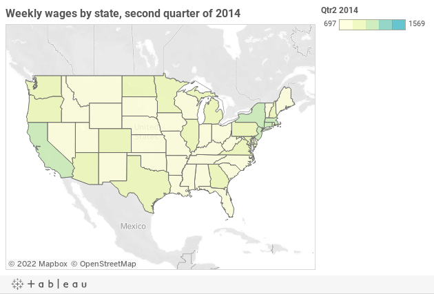 3 maps and 3 lists on wage growth in the U S  - StarTribune com