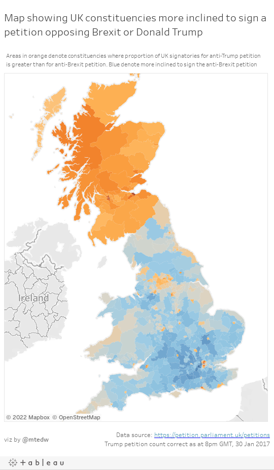 UK Petition Map