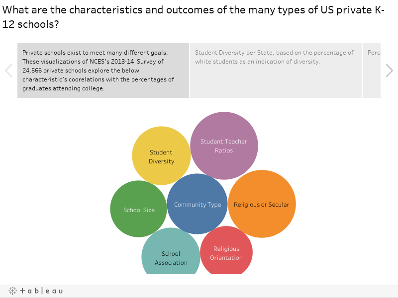 What are the characteristics and outcomes of the many types of US private K-12 schools?