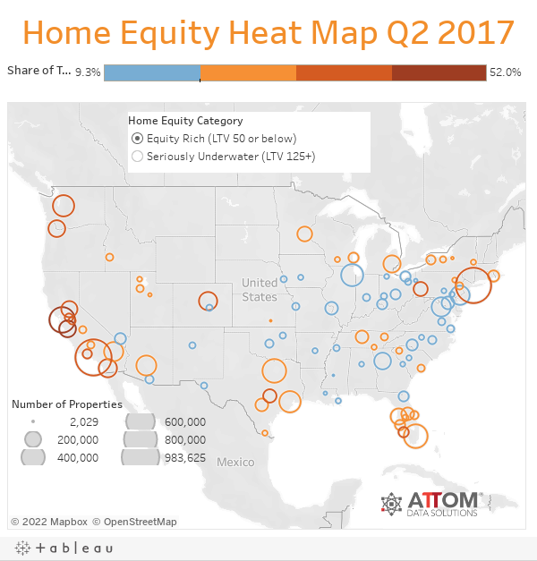 Home Equity Heat Map Q2 2017